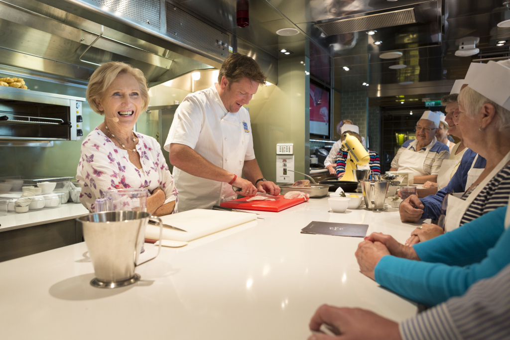 James Martin and Mary Berry