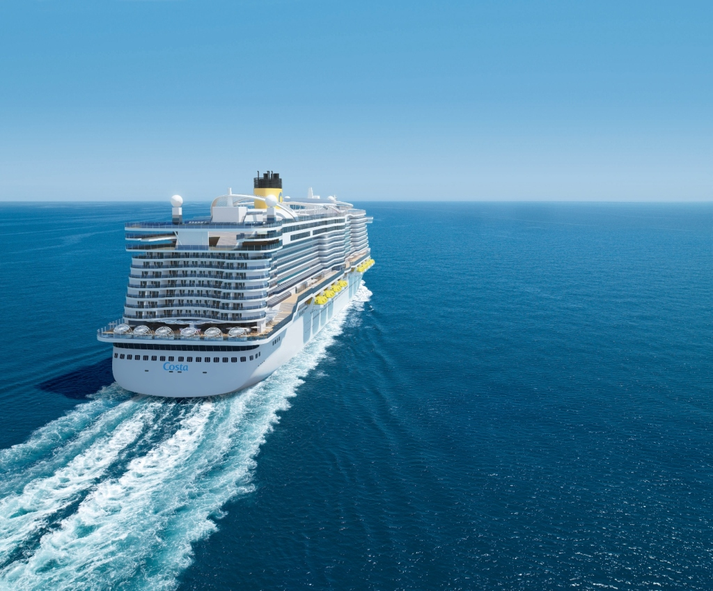 Costa cruises LNG Ship