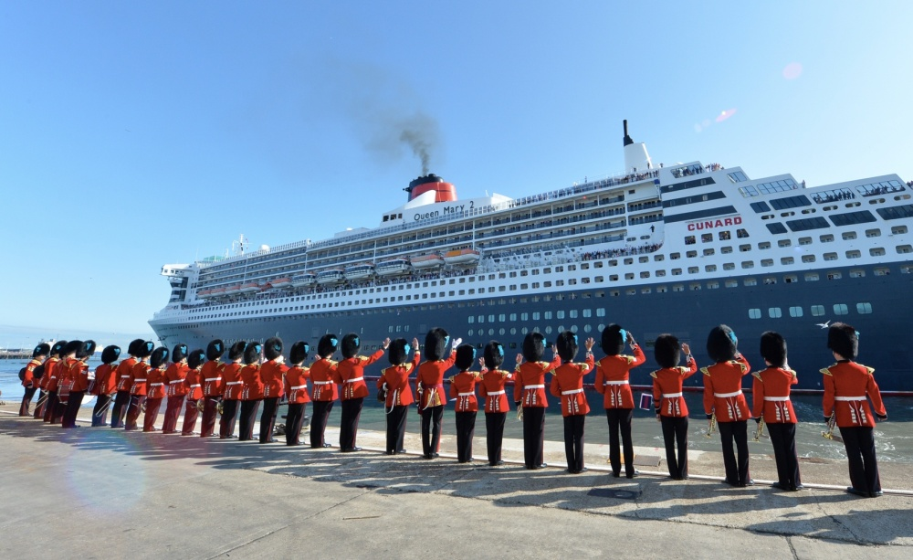 Cunard's Queen Mary 2 celebrations