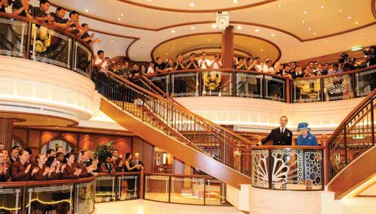Cunard Queen Elisabeth