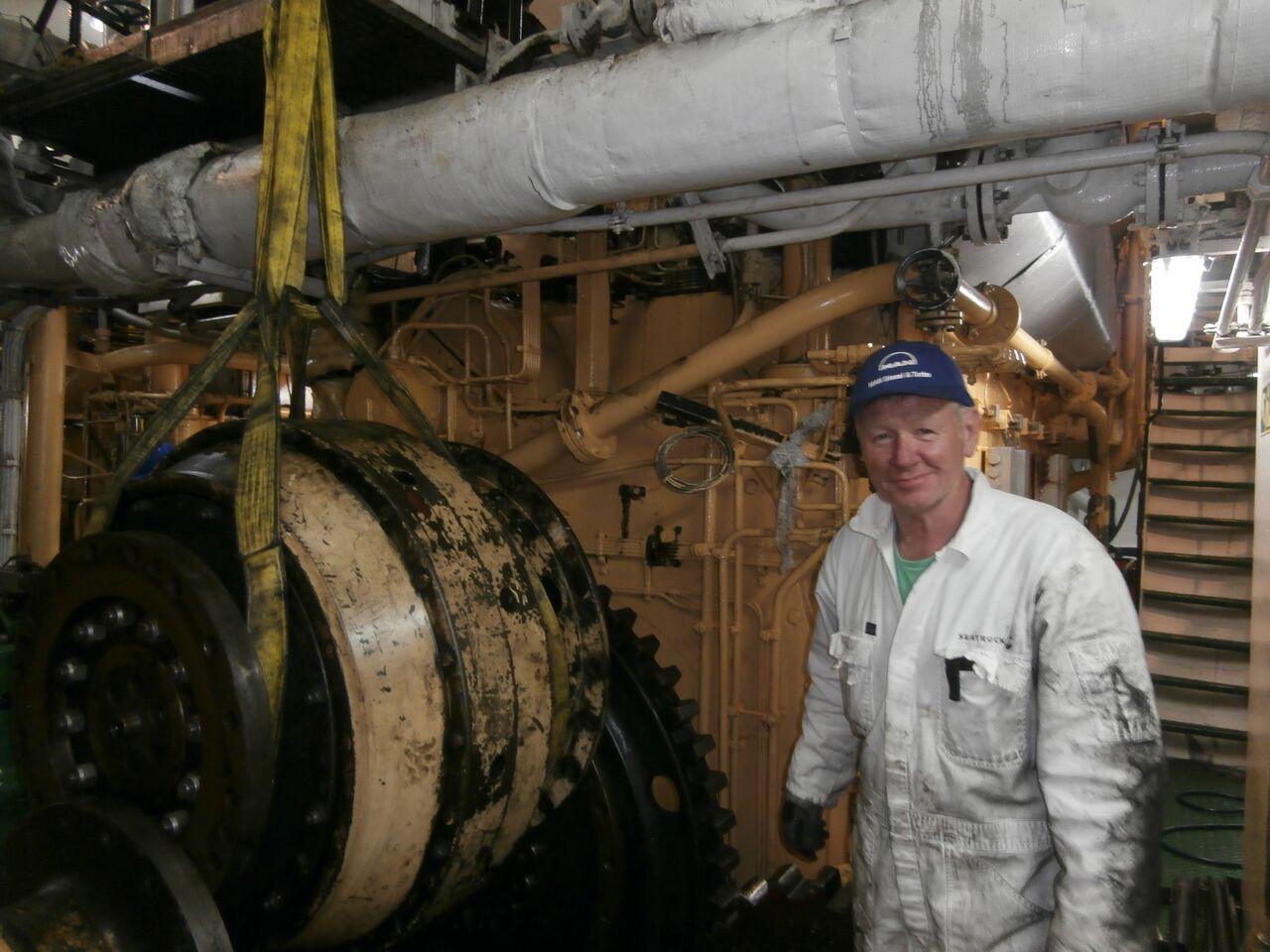 Mark Cameron, Chief Engineer, Saga Pearl II