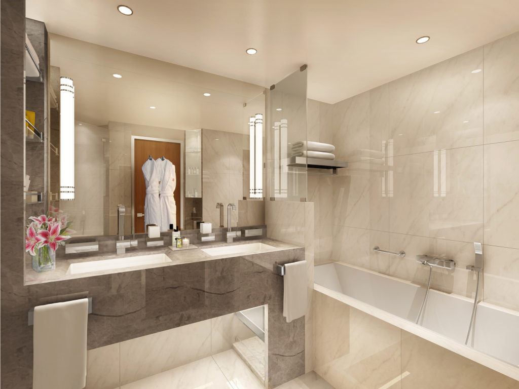 Veranda suite bathroom