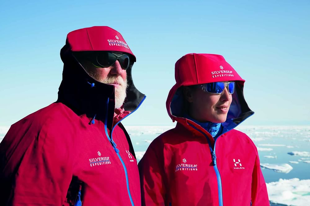New Silversea expedition jackets