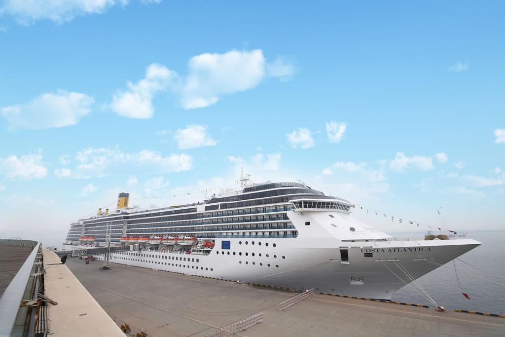 Costa Atlantica Tianjin Maiden Call