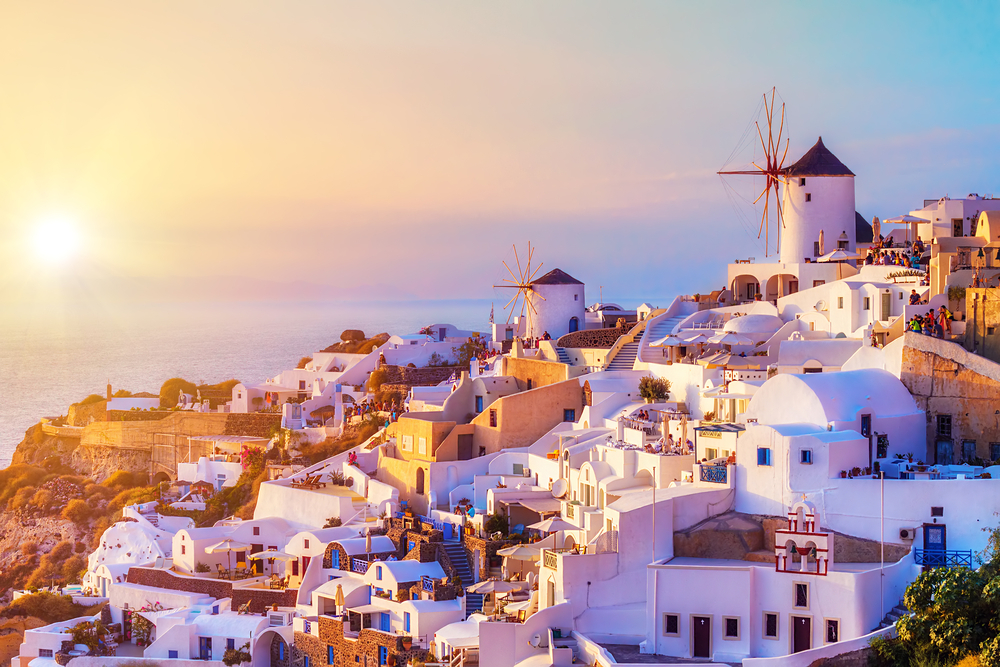 Santorini - Cruise to Greek Islands and Turkey