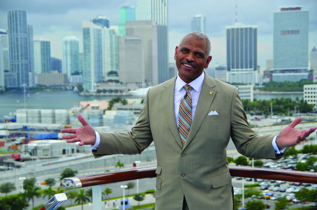 Arnold Donald, CEO, Carnival Corp