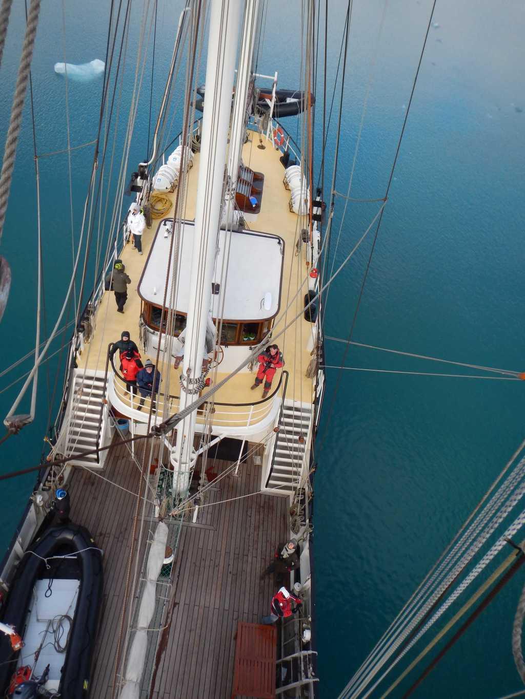 Down to deck - Charlotte Caffrey