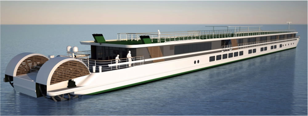 Croisieurope Orders Third Paddle Wheel Ship