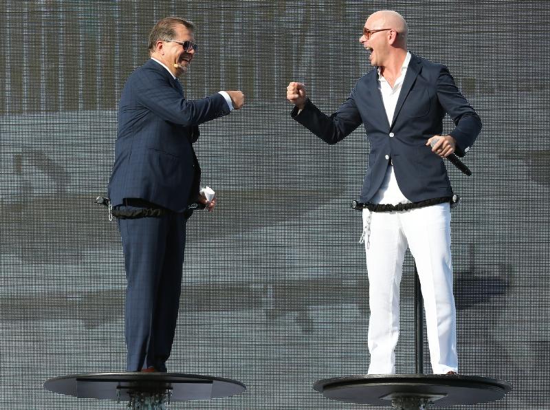 Frank Del Rio and Pitbull