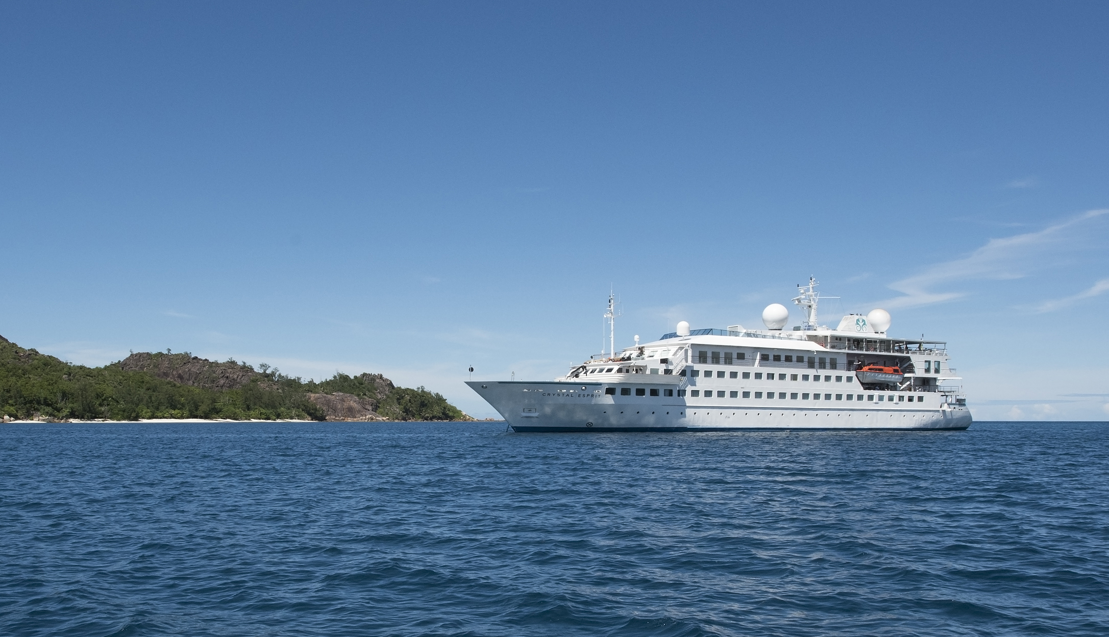 Crystal Esprit on the water