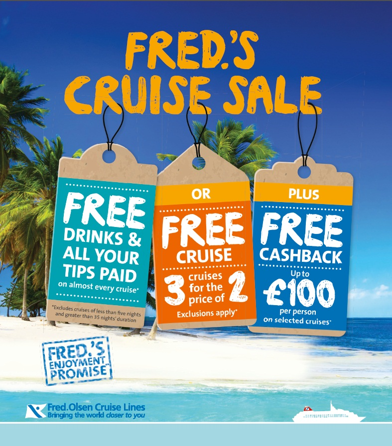 Fred. Olsen Cruise Lines 2015+16 Turn of Year Campaign