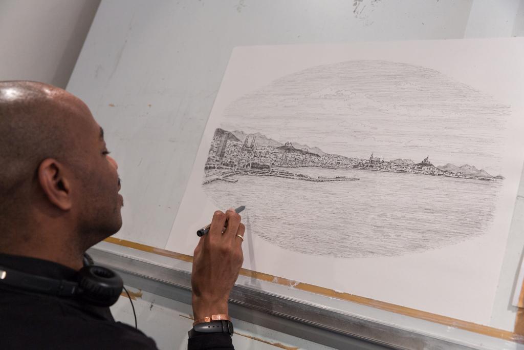 British artist Stephen Wiltshire MBE