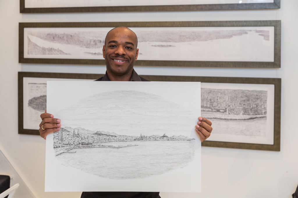 British Artist Stephen Wiltshire Mbe World Of Cruising