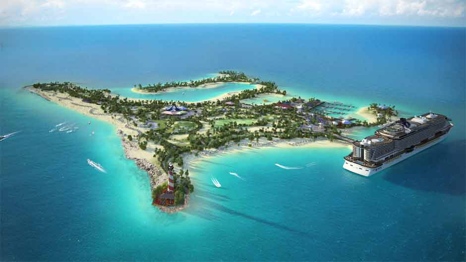 MSC Cruises reveals plans for new beach destination in the Bahamas