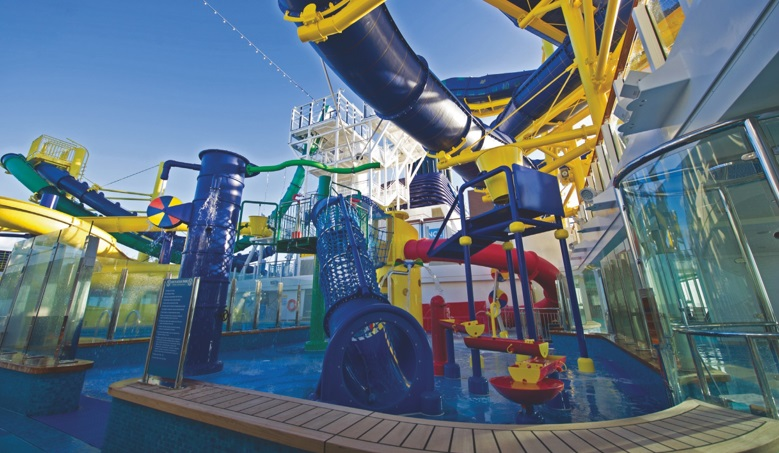 Norwegian Escape Aqua Park