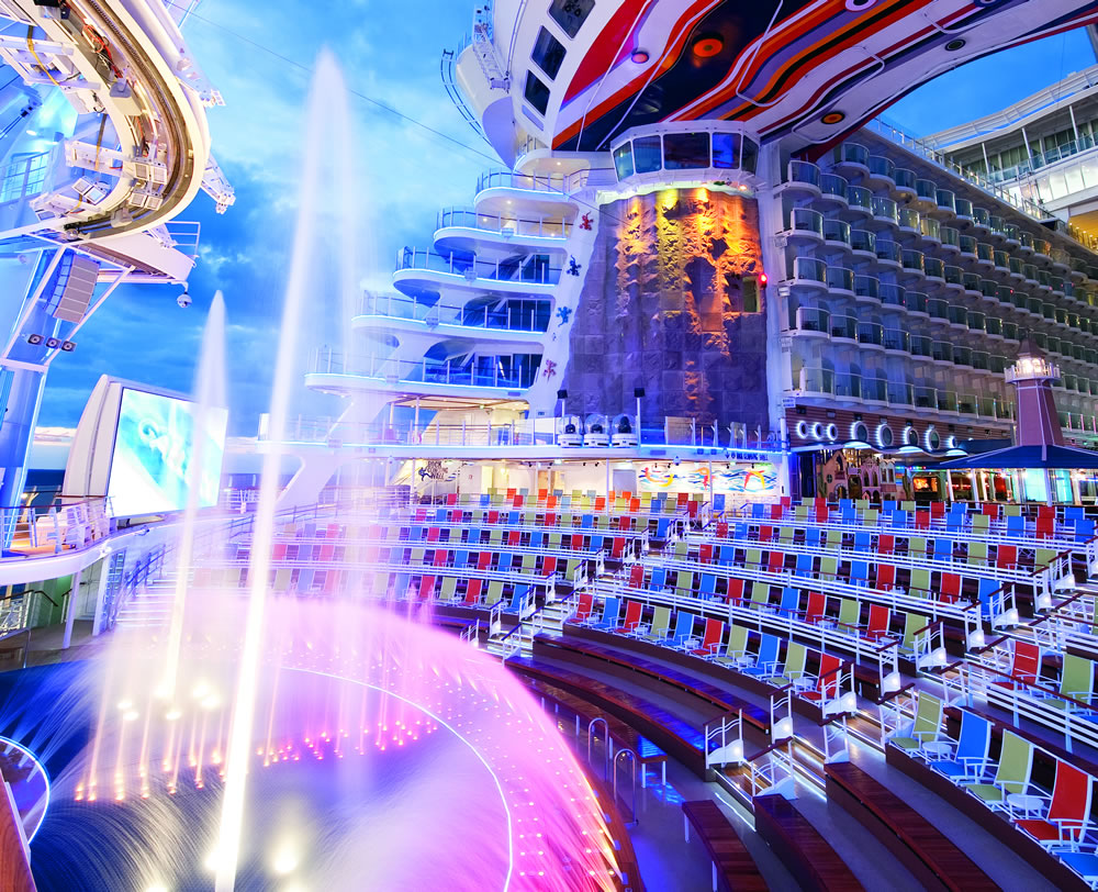 Full Entertainment Line Up For Harmony Of The Seas