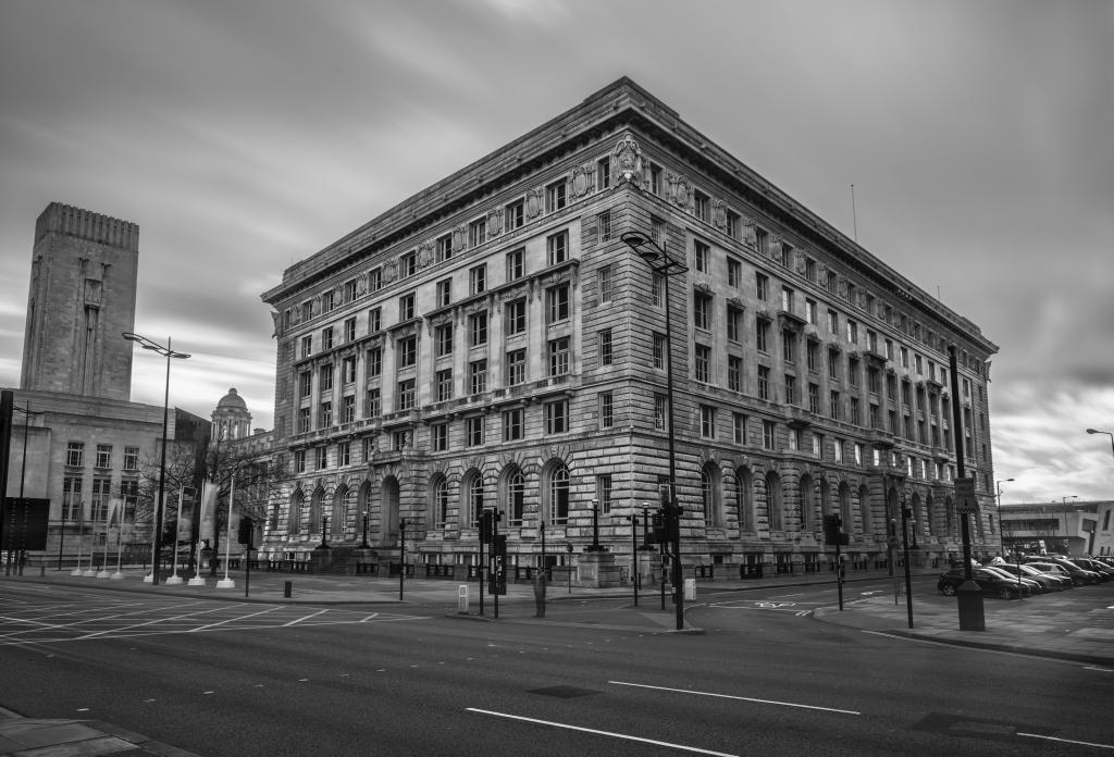 Cunard Building in Liverpool