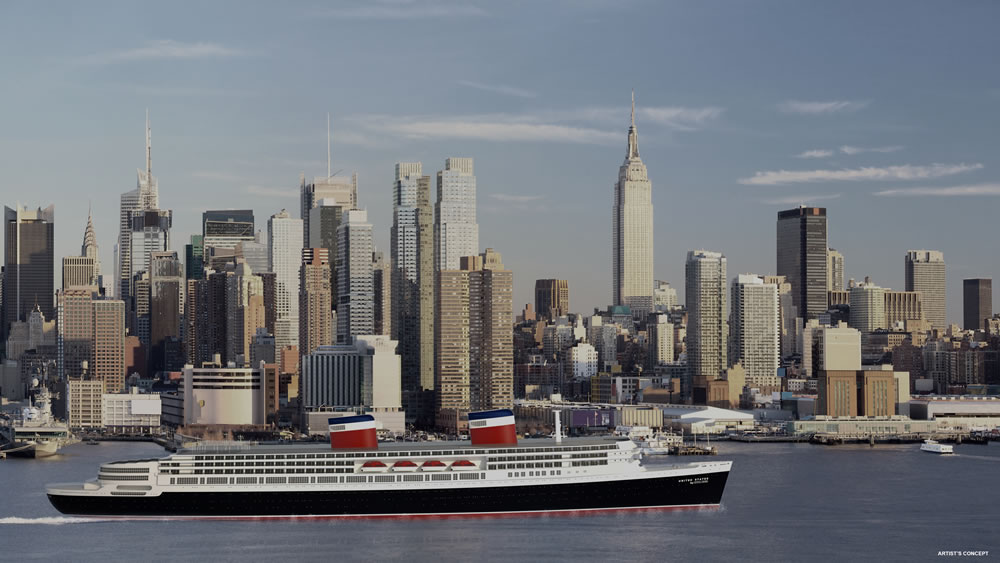 United States by Crystal Cruises in NYC