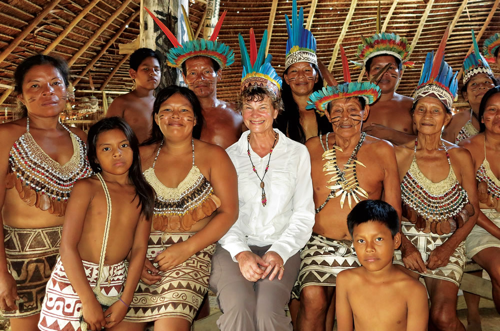 Susan joins the tribal chief and his family in Boras