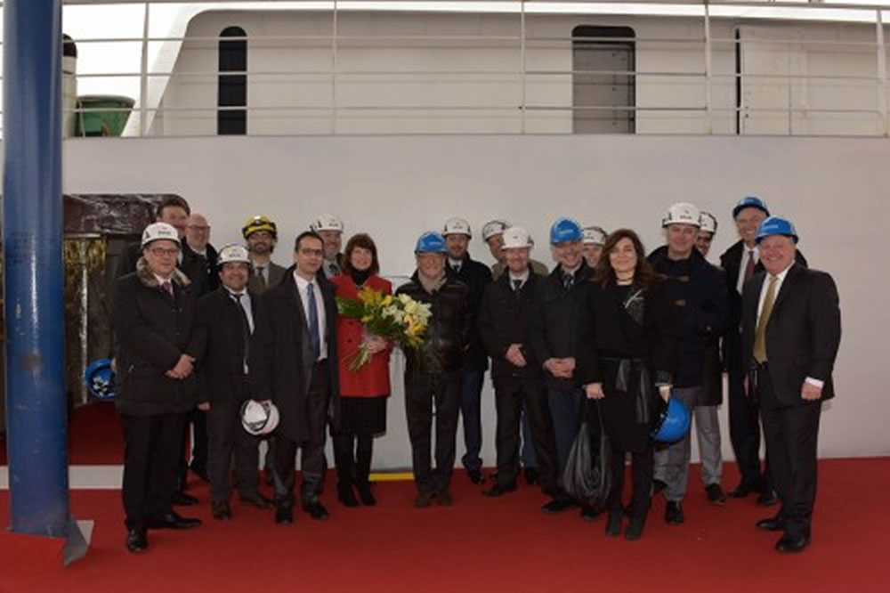 Seabourn Encore coin ceremony
