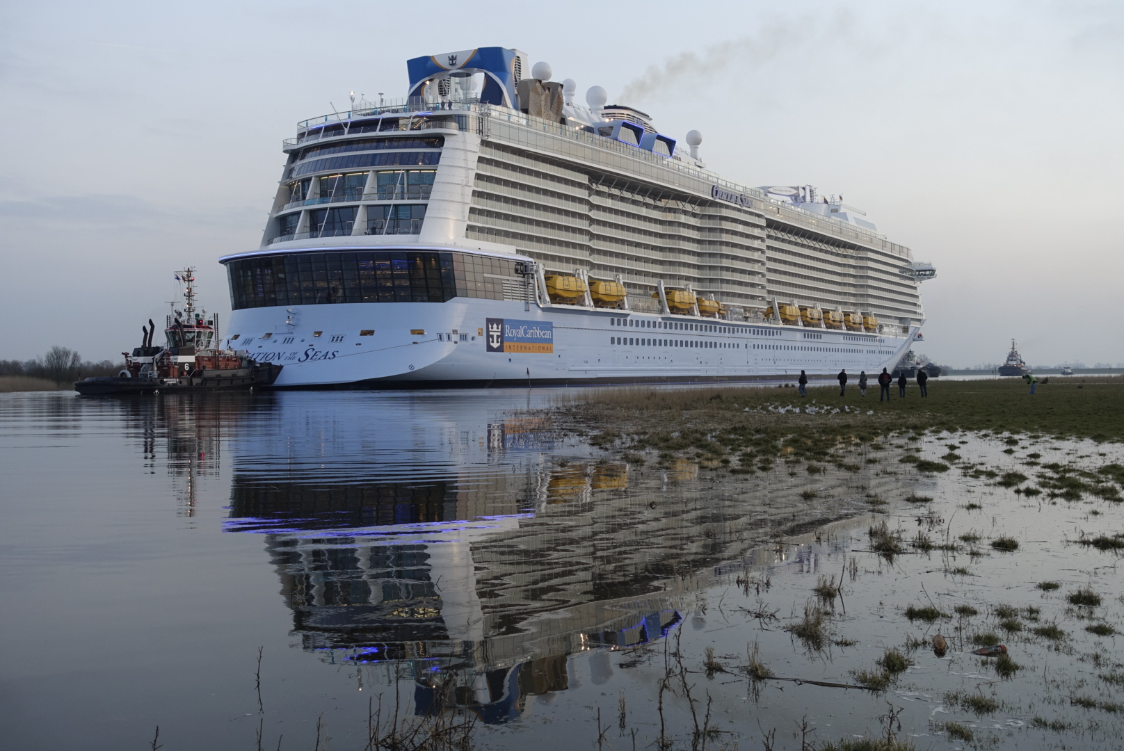 Ovation Of The Seas Leaves The Papenburg Shipyard World