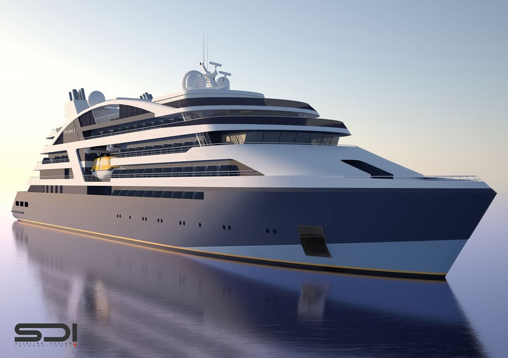 New Ponant expedition ship