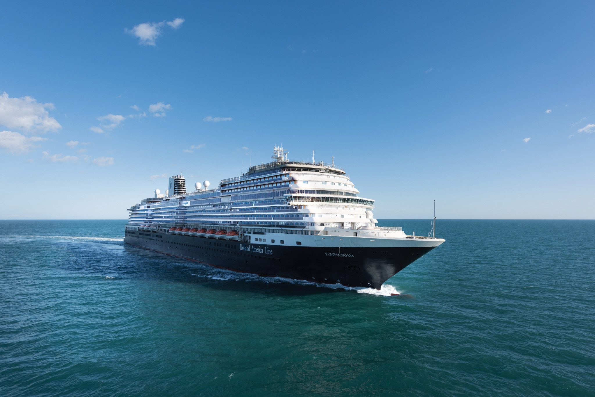 Holland America Line Takes Delivery of ms Koningsdam from Fincantieri Shipyard