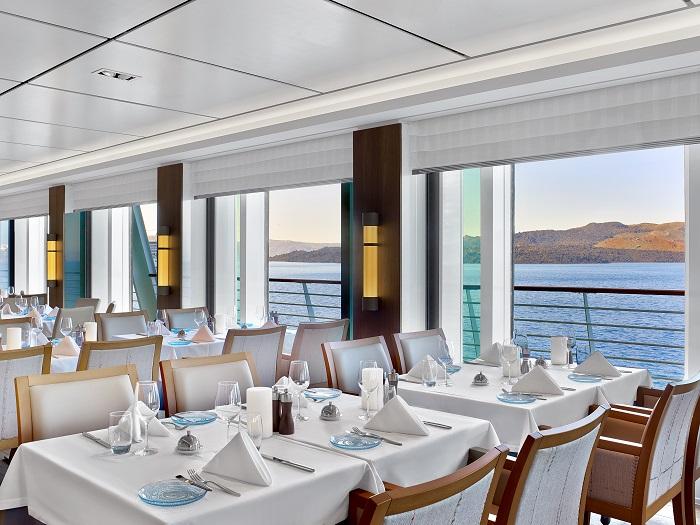 Viking Ocean cruise Ship restaurant