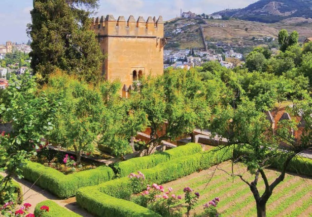 Andalucia Alhambra Palac