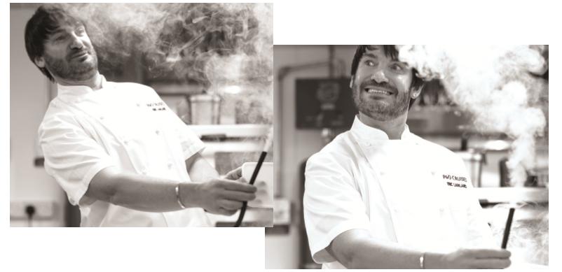 Chef Eric Lanlard, Britannia