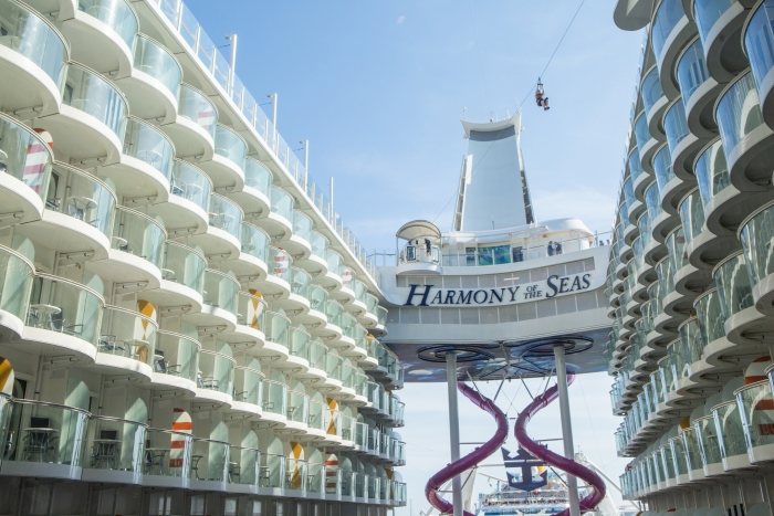 harmony of the seas - inside