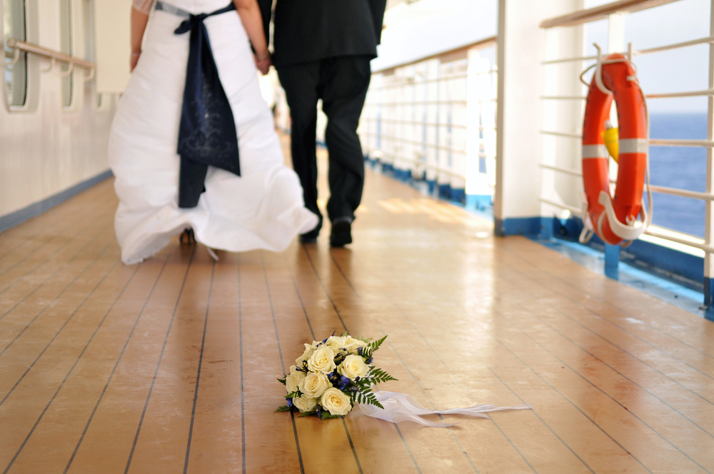 Wedding at sea
