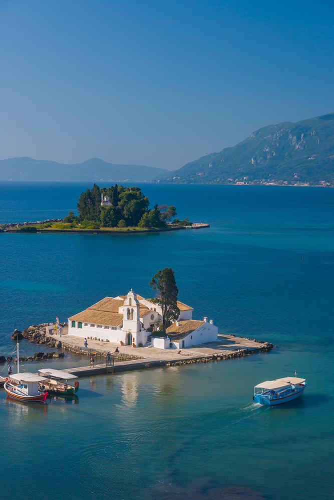 Monastery in Corfu