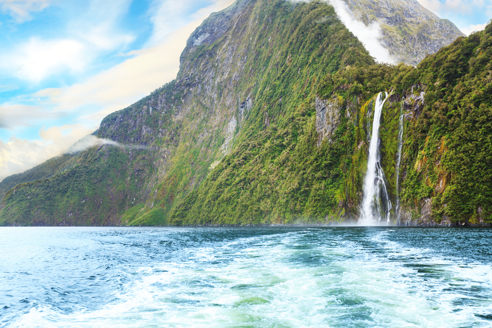 New Zealand - Waterfall
