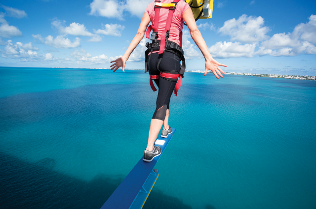 Sky Walk Boards : Super crazy things to do on a cruise world of cruising