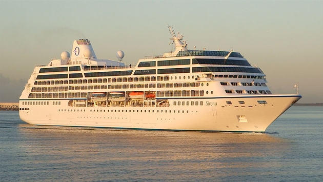 Maiden voyage sirena calling world of cruising magazine for High end cruise lines