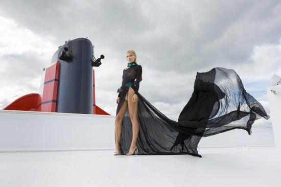 Cunard Fashion Week