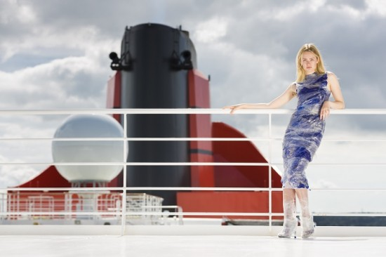 Cunard Fashion Week