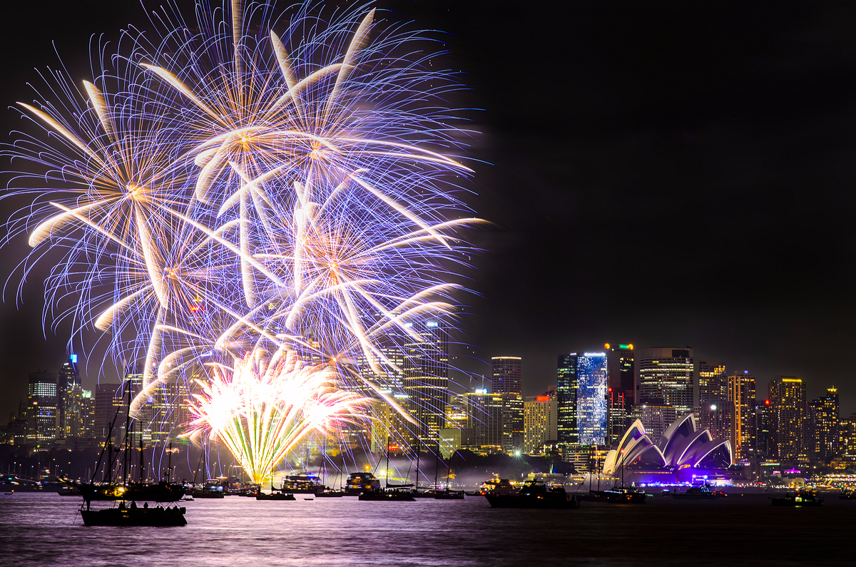 NYE firework