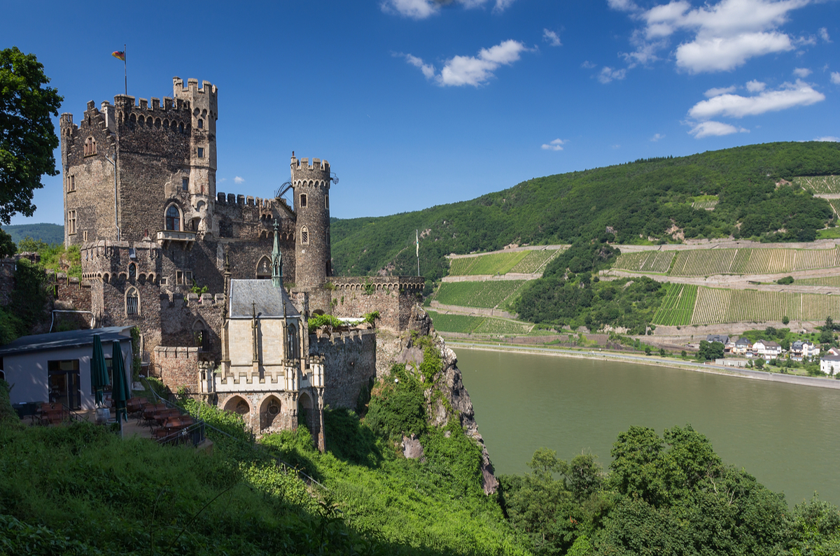 Castle along the Rhine