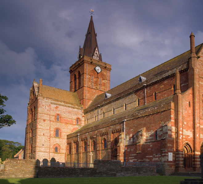 Kirkwall's St Magnus Cathedral