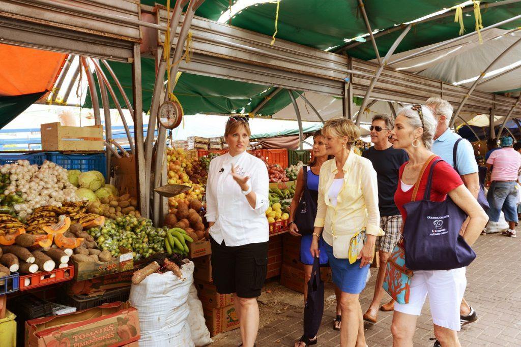 Market visit in Nice