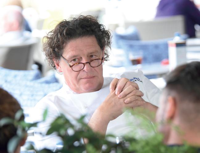 Chef Marco Pierre White