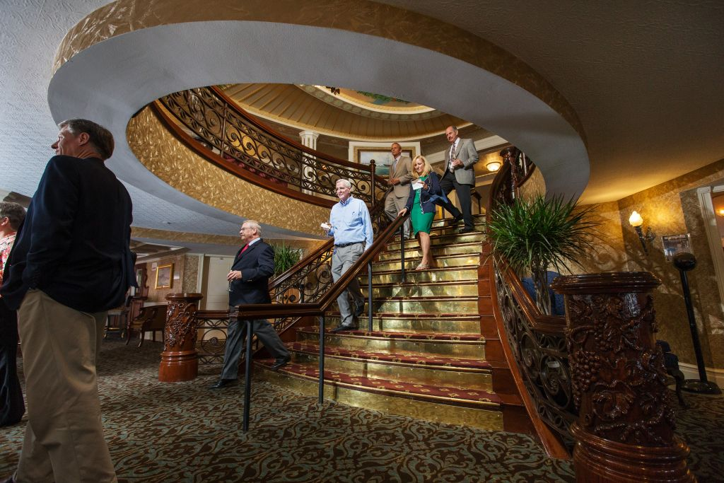 American Queen Staircase