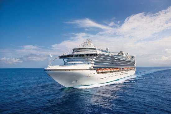 Princess Cruises: Crown Princess at sea