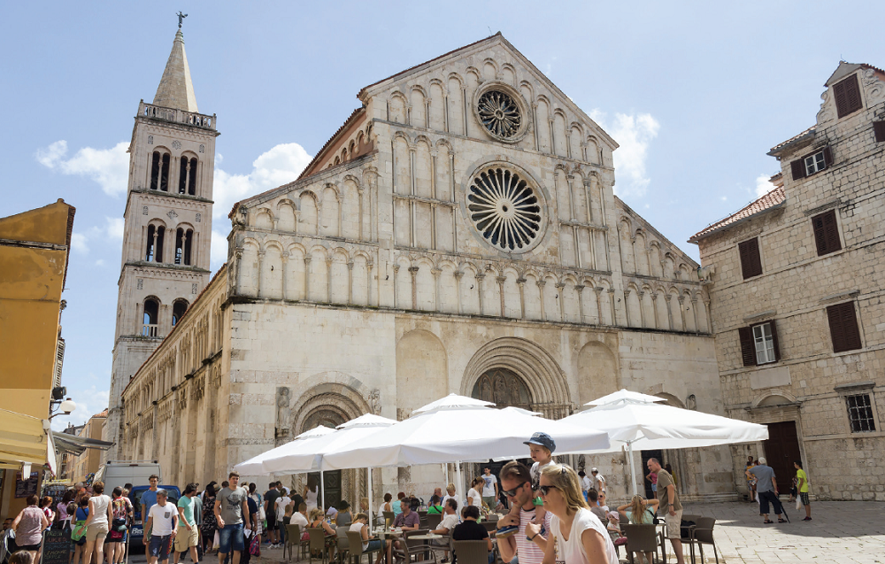 Romanesque Cathedral - Zadar