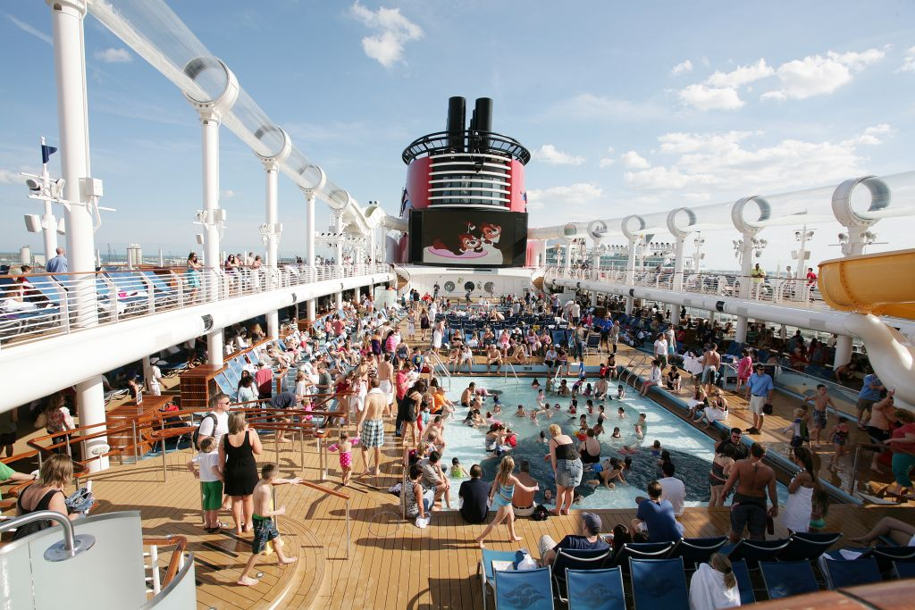 Disney Dream promenade deck