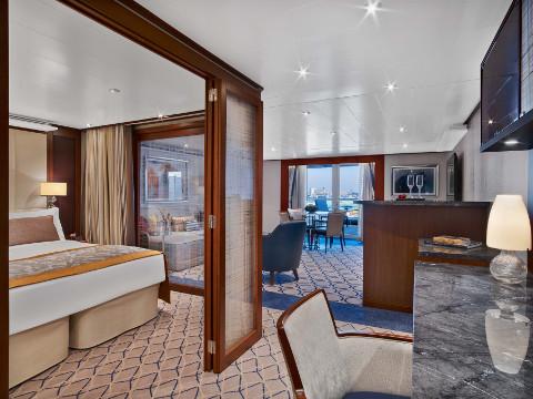 Penthouse Spa Suite - Seabourn Encore