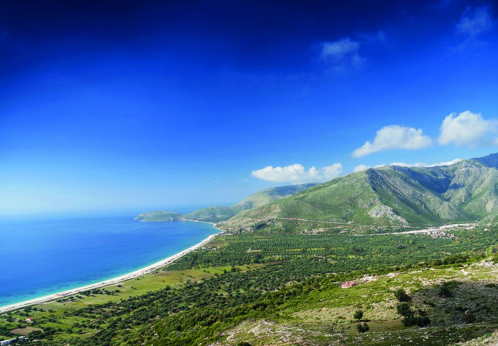 Albania ionian sea