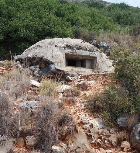 concrete bunker -Albania